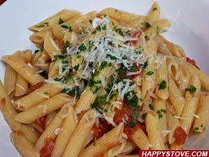 Penne Pasta with Arrabbiata Sauce