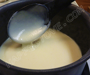Bechamel Sauce - By happystove.com
