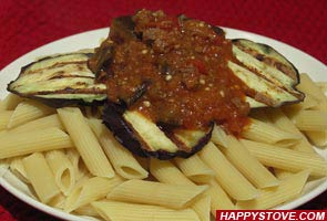 Eggplants Bolognese Sauce - By happystove.com