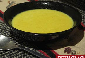 Ginger, Turmeric and Cumin Soup - By happystove.com