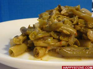 Saute of Green Beans with Herbs - By happystove.com