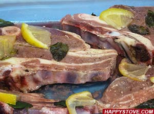 Mint and Lemon Meat Marinade