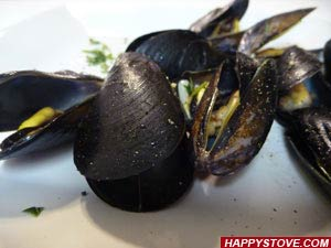 Peppered Mussels - By happystove.com