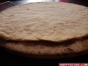 How to make Pizza dough - By happystove.com