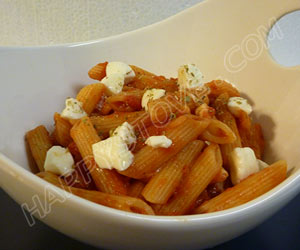 Penne alla pizzaiola - By happystove.com