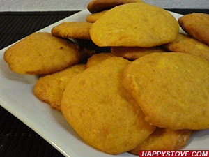 Pumpkin Cookies - By happystove.com
