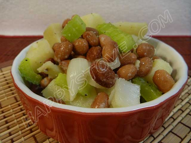 Potato and Pinto Bean Salad - By happystove.com