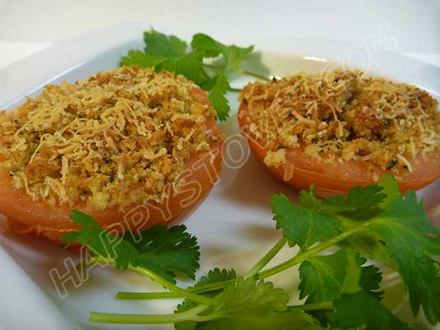 Tomatoes Gratin - By happystove.com